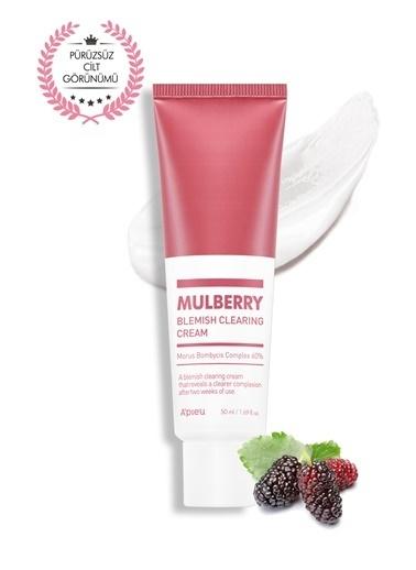 Missha Leke Karşıtı Aydınlatıcı Dut Özlü Krem 50Ml Apıeu Mulberry Blemish Clearing Cream Renksiz